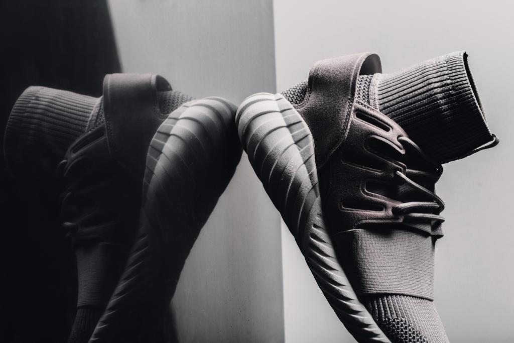 adidas Originals Tubular Doom All Black On Feet