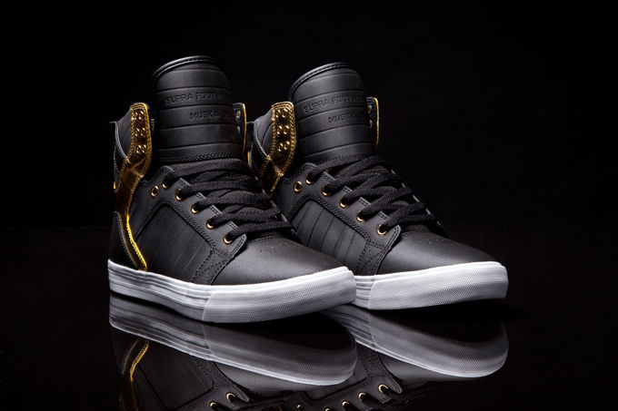Supra Skytop Black Gold (2)