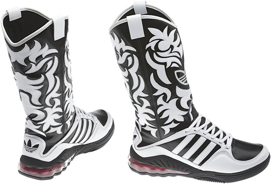 c4b5bf815a410 adidas Originals by Jeremy Scott - Spring Summer 2012 - JS MEGA Softcell  Boots V22820