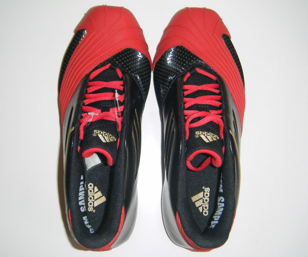 adidas TMAC 1 Black Red Gold (7)
