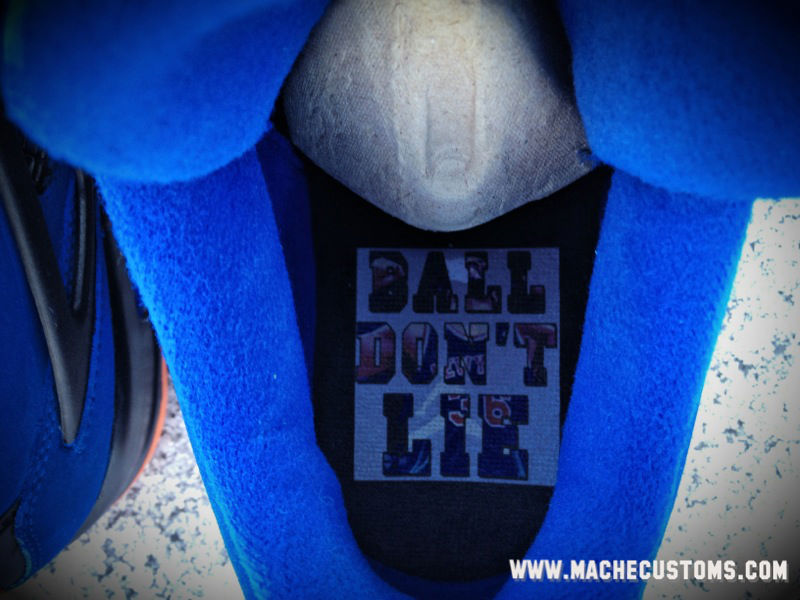 Air Jordan IV 4 Ball Don't Lie Rasheed Wallace by Mache Custom Kicks (3)