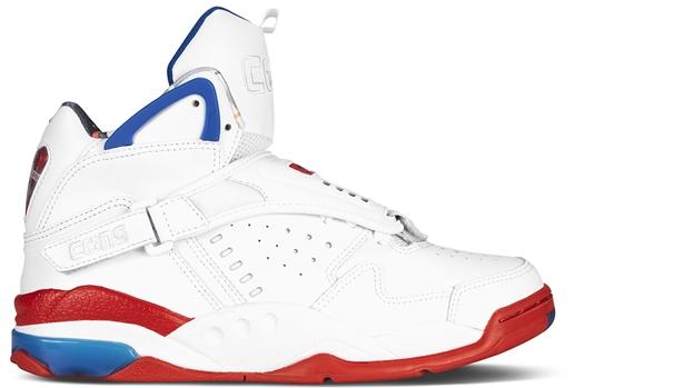 Converse Aero Jam Mid White/Red-Blue