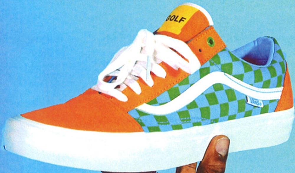 Vans Syndicate Old Skool Orange/Green-Blue