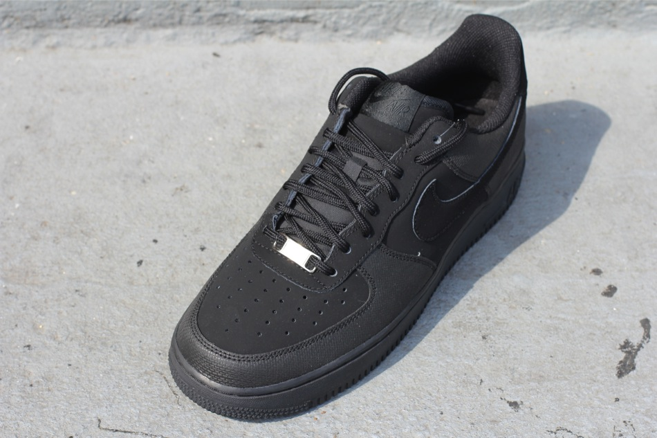 Nike Air Force 1 Low  Black Nubuck