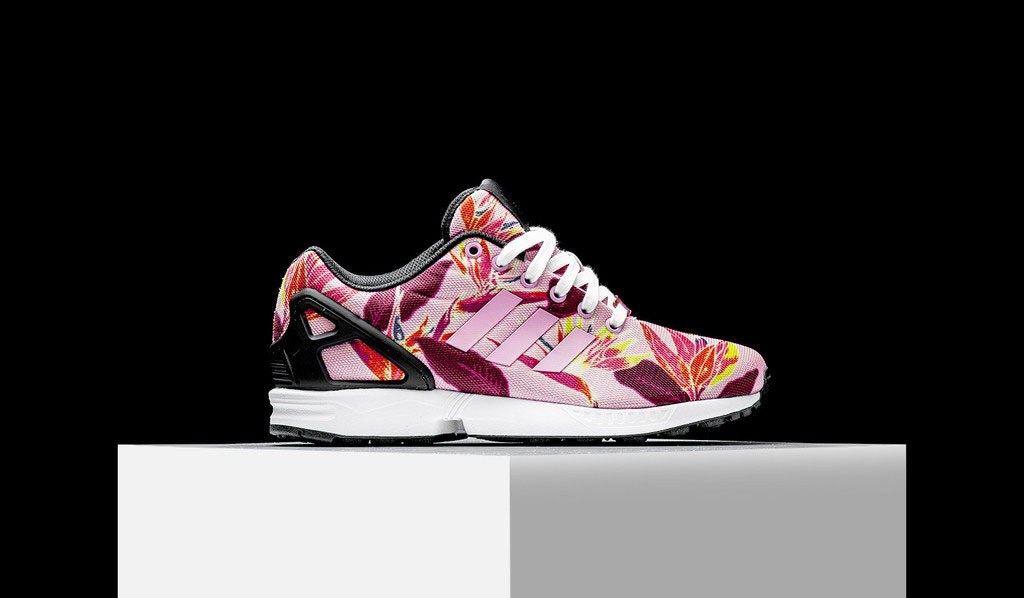 online store 17acd ede08 adidas ZX Flux Solar Floral (1)