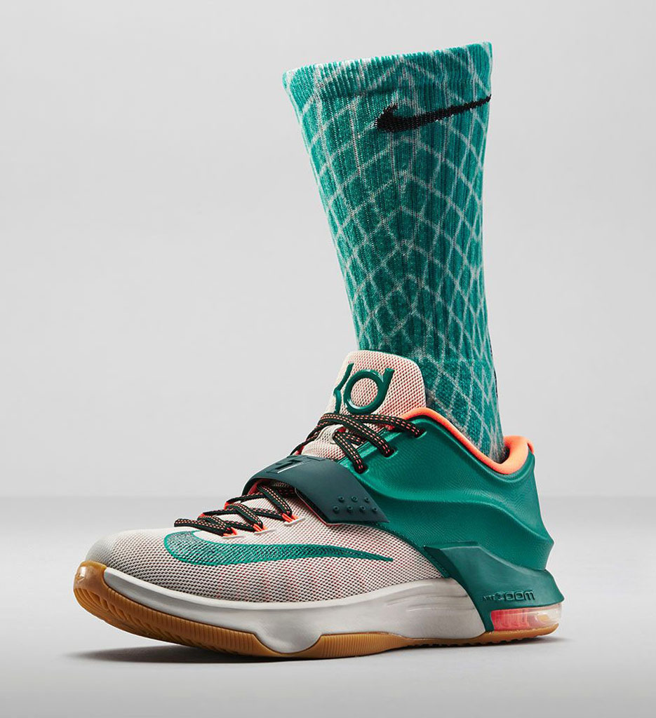 buy popular f0ba0 0c7da Nike KD VII 7 Easy Money 653996-330 (6)