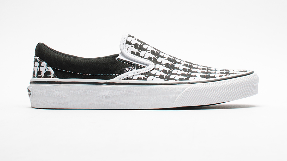 Karl Lagerfield x Vans Slip On