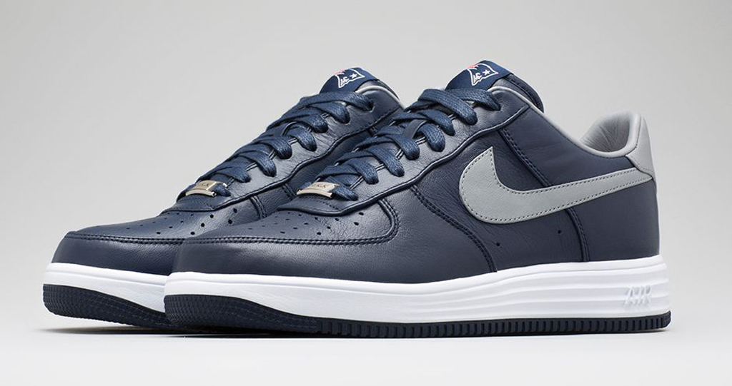83db5404dfe1 Nike Lunar Force 1s For The New England Patriots