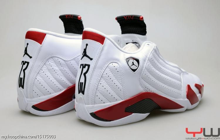 wholesale dealer 831c2 666fb Air Jordan 14 XIV Retro White Varsity Red Black 487471-101 2