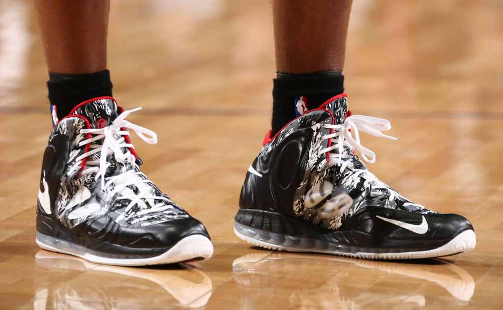Chris Bosh wearing Nike Air Max Hyperposite PE
