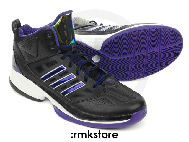 wholesale dealer 7604b 253a8 adidas D Howard Light Lakers Away G59718 (2)