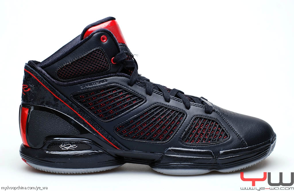 ac5c8150a86b ... adidas adiZero Rose 1.5 Black Red Aluminum ...