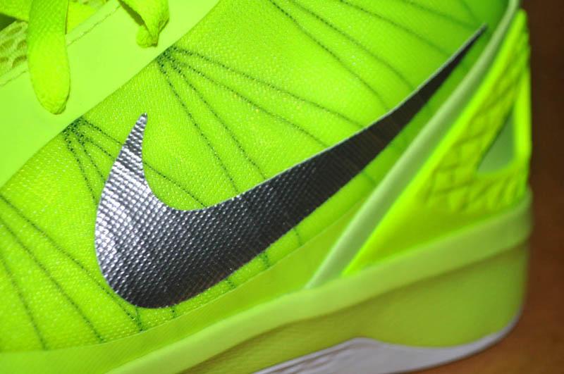 huge selection of 8c733 58ff9 Nike Zoom Hyperdunk 2011 Volt White Black 454138-700