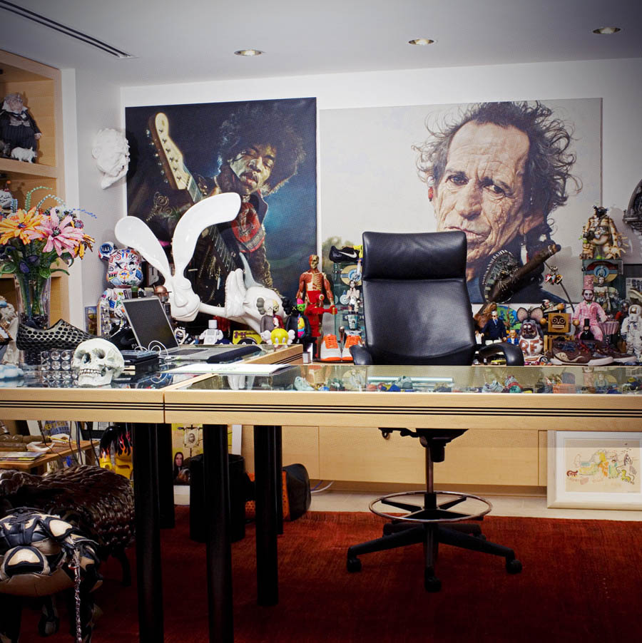 A Look At The Office Of Nike CEO Mark Parker