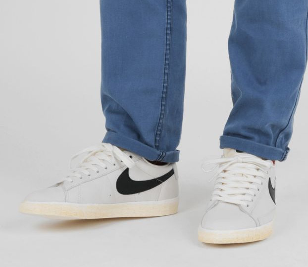 official photos 4ed10 5ff68 nike blazer low leather white