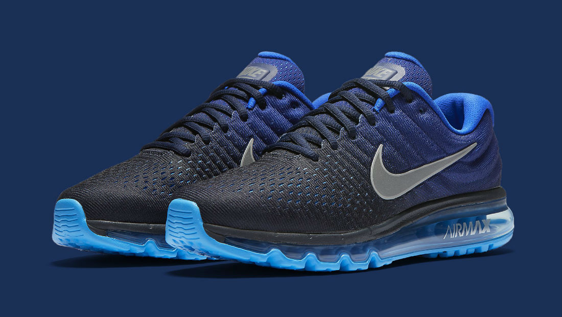 best sneakers 081fd f1716 Nike Air Max 2017 Blue Main 849559-400