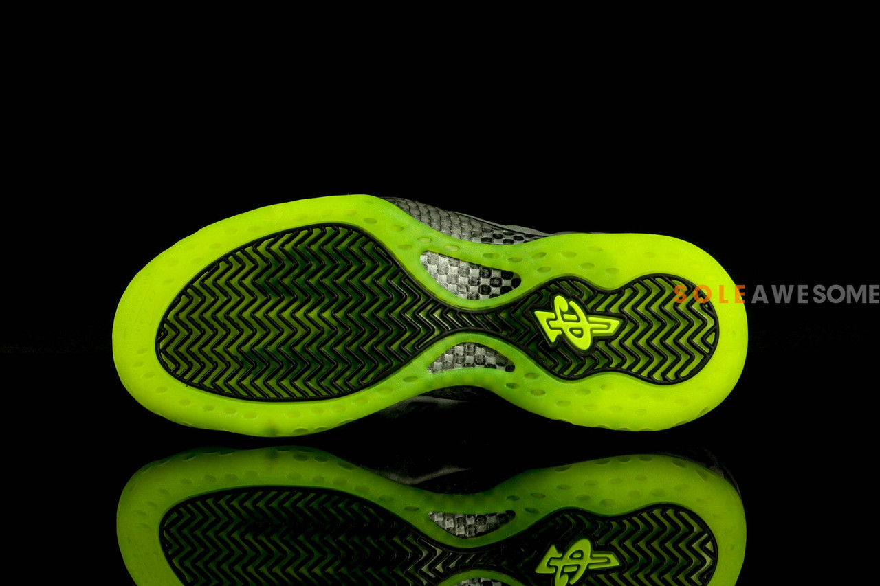 new product 8792f cc739 green nike foamposite pe nike shoes