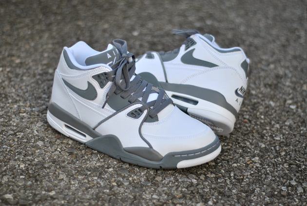One of Nike Sportswear's most successful retro styles of 2012 in the Air  Flight 89 is back for the new year in this all new grey-accented colorway.