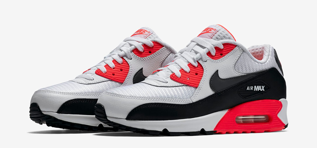 Nike Air Max 90 Essential Black Infrared For Sale | Sole Look