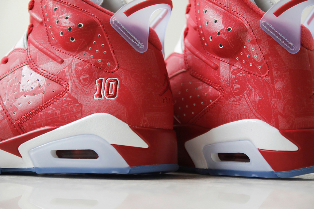 new product 75856 92a08 A Detailed Look at the Slam Dunk Air Jordan 6 Retro and Super.Fly 3   Sole  Collector