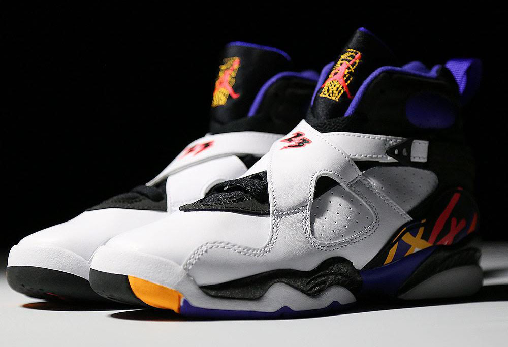on sale feac8 76e64 Air Jordan 8 Three-Peat 305381-142 (1). by Brandon Richard