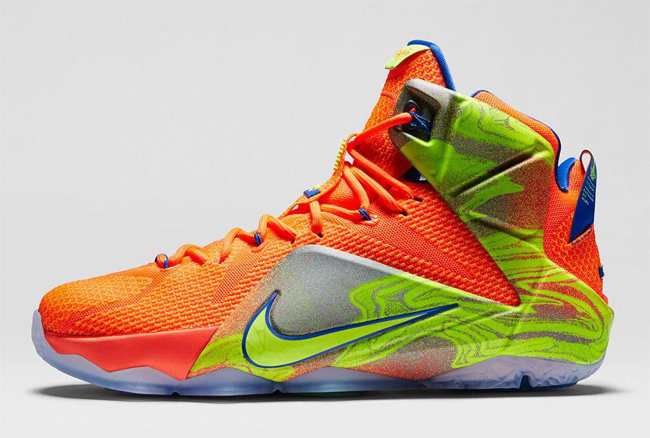 32cdd9edbcbf Nike LeBron XII 12 Six Meridians Release Date (2)