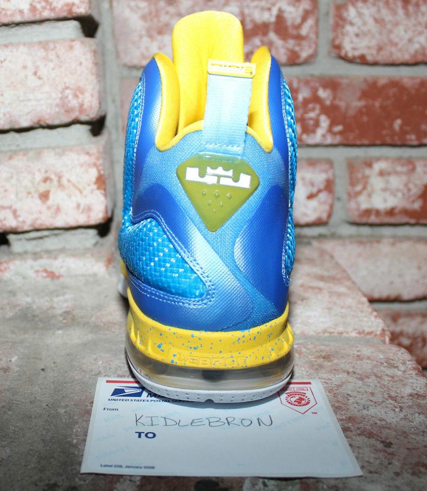 Nike LeBron IX 9 Swin Cash Chicago Sky PE (7) 3df50e324