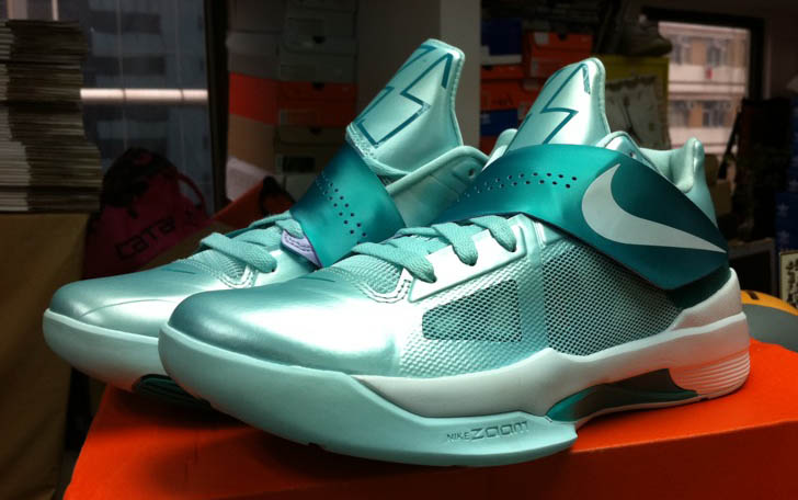 Nike Zoom KD IV 4 Easter Mint Candy 473679-301 (1)