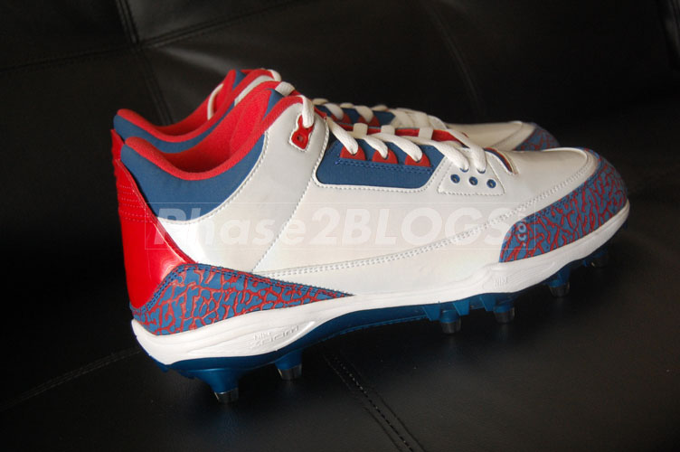 Michael Vick's Air Jordan 3 III Pro Bowl PE Cleats