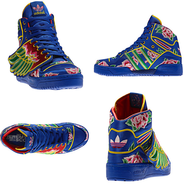 pretty nice 2a43f 4f872 The limited edition Eason Chan x adidas Originals by Jeremy Scott JS Wings  will release next month at select Originals retailers, including Tokyo s  atmos.