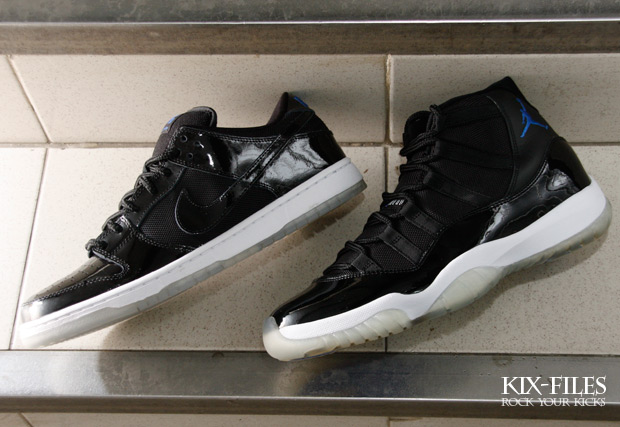 official photos 2a583 920f4 Nike SB Dunk Low & Air Jordan Retro 11 -