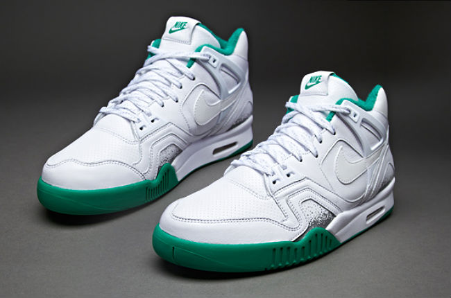 Nike Air Tech Challenge II White Court Green (1)