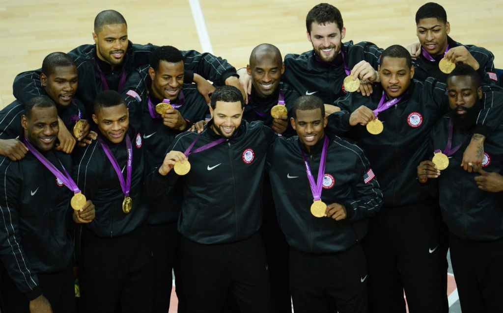 McDonald's All Americans at the Olympics