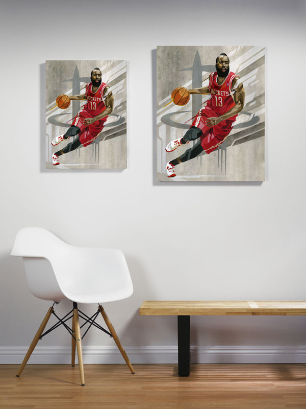 RareInk x NBA James Harden by Tadaomi Shibuya (2)