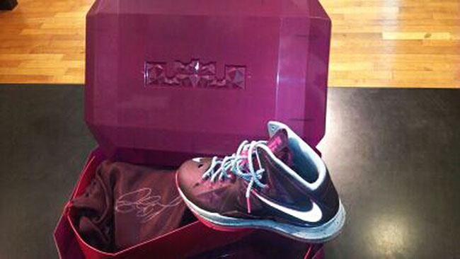 Nike LeBron X+ Sport Pack Crown Jewel Packaging