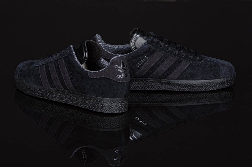 adidas Originals Gazelle   AR 2.0 - Black Pack  2b76fbc3c