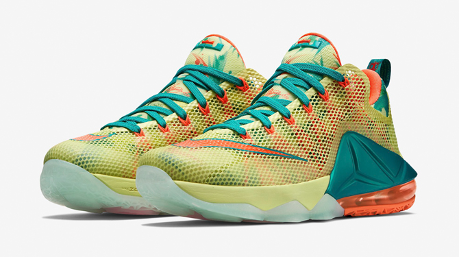 75b96eb8a219 LeBronold Palmer  Nike LeBron 12 Lows Are Releasing Today