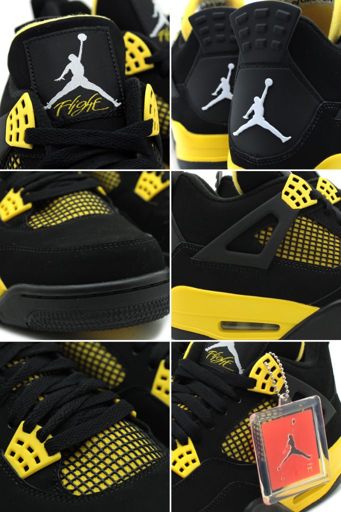 Air Jordan IV 4 Thunder 308497-008 (3)