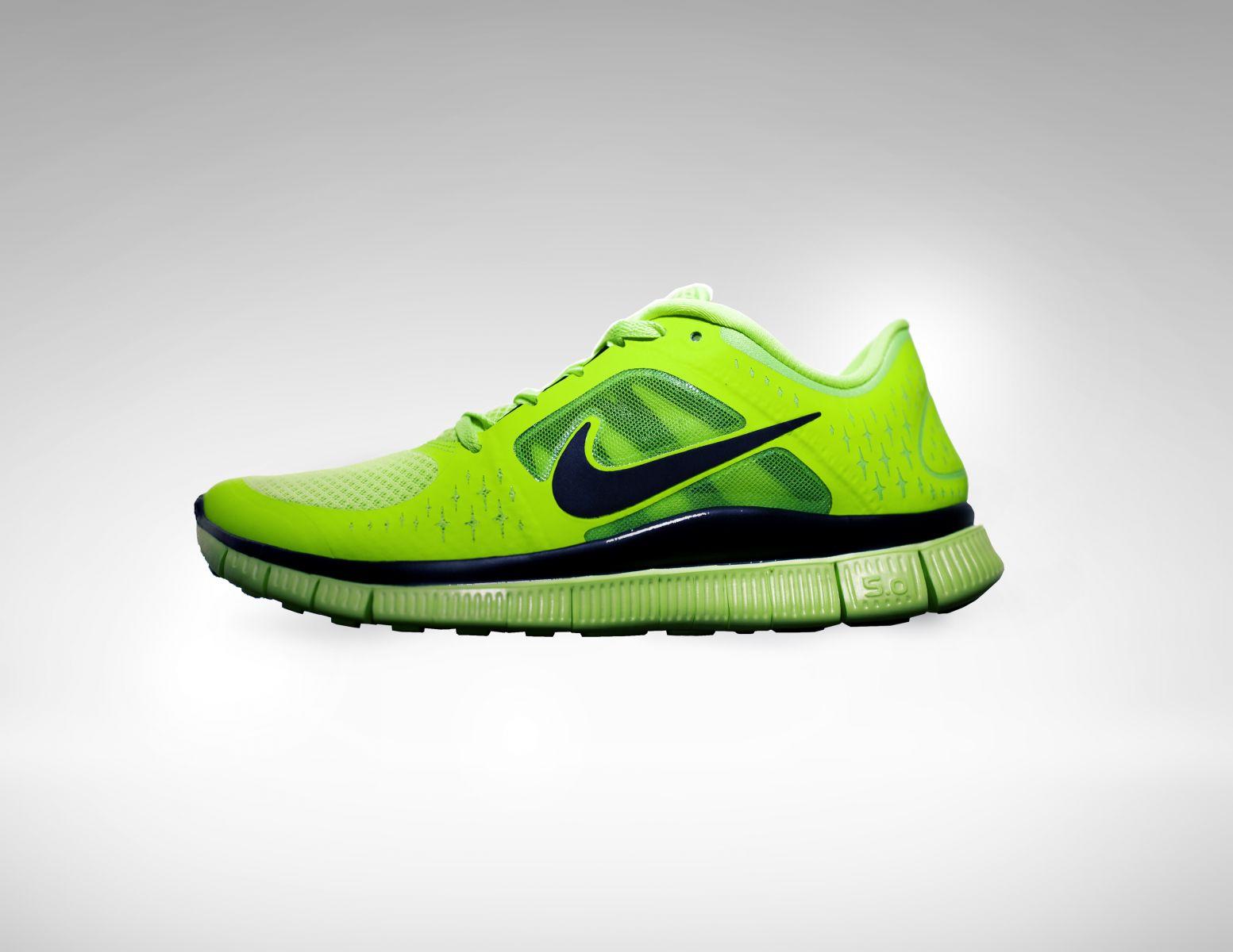nike free run id neon