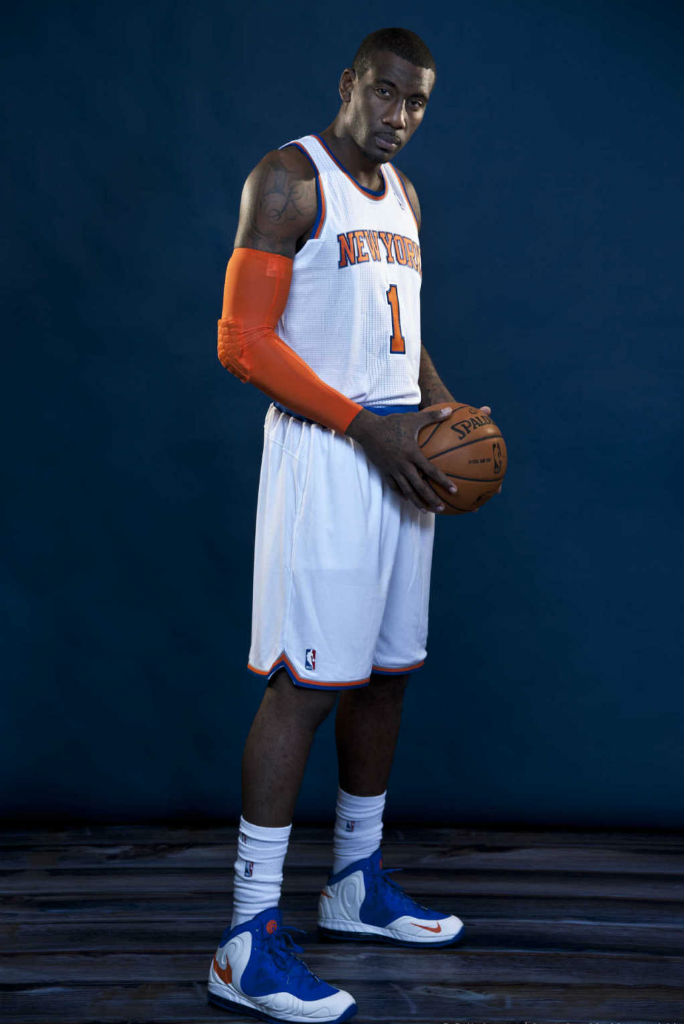 check out 15712 1219c Amar e Stoudemire wearing Nike Air Max Hyperposite PE