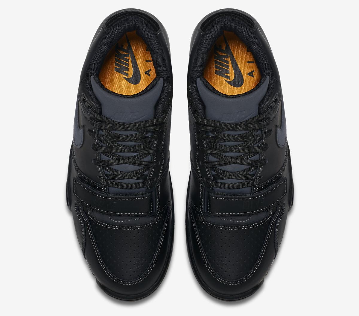 quality design d3242 e4305 Nike Air Trainer 1 Mid Color  Anthracite Anthracite-Black-Laser Orange  Style    317554-004
