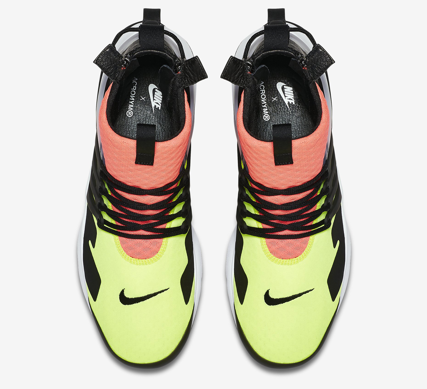 Acronym Nike Air Presto Hot Lava 844672-100 Top