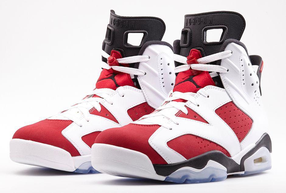 best website 51602 4a5d7 An Official Look at the 'Carmine' Air Jordan 6 Retro | Sole ...
