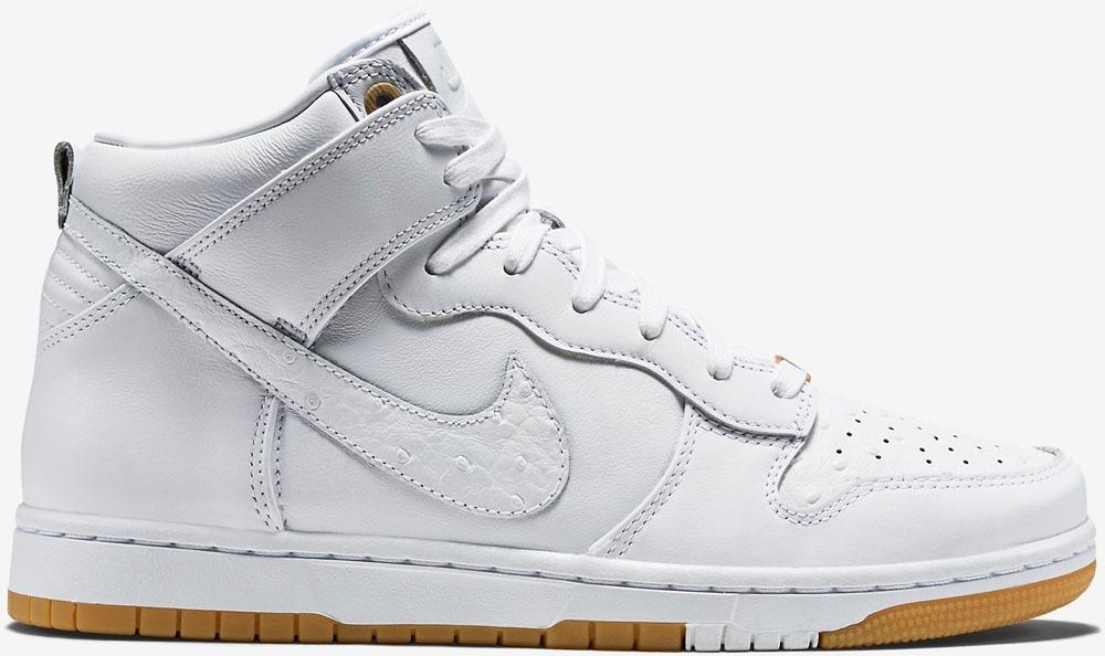 Nike Dunk High CMFT Premium White/White