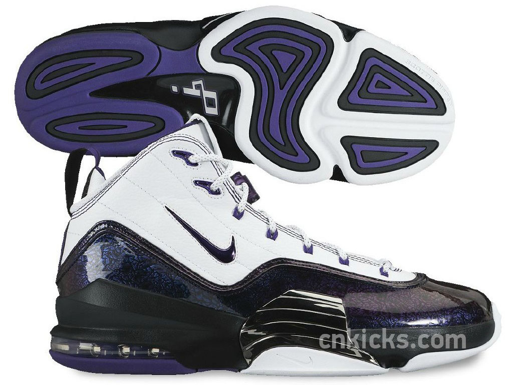 Nike Air Pippen VI 6 White/Purple