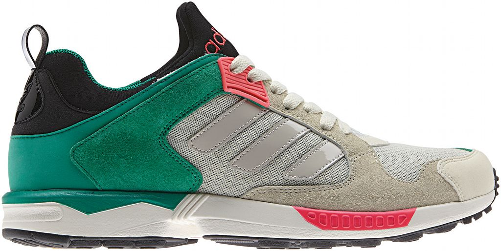 adidas Originals ZX 5000 RSPN - Spring/Summer 2014 - Grey/Green-Pink (1)
