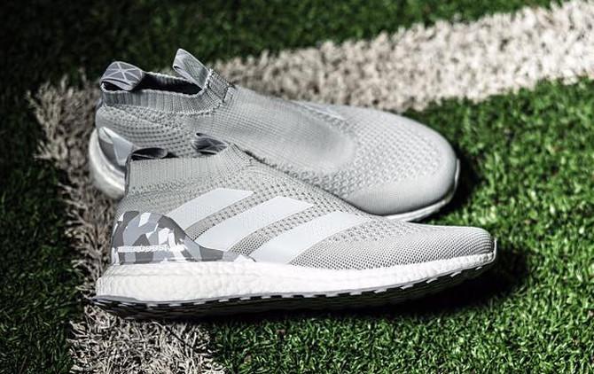 Adidas Ace Control Boost 16 Grey Camo Side