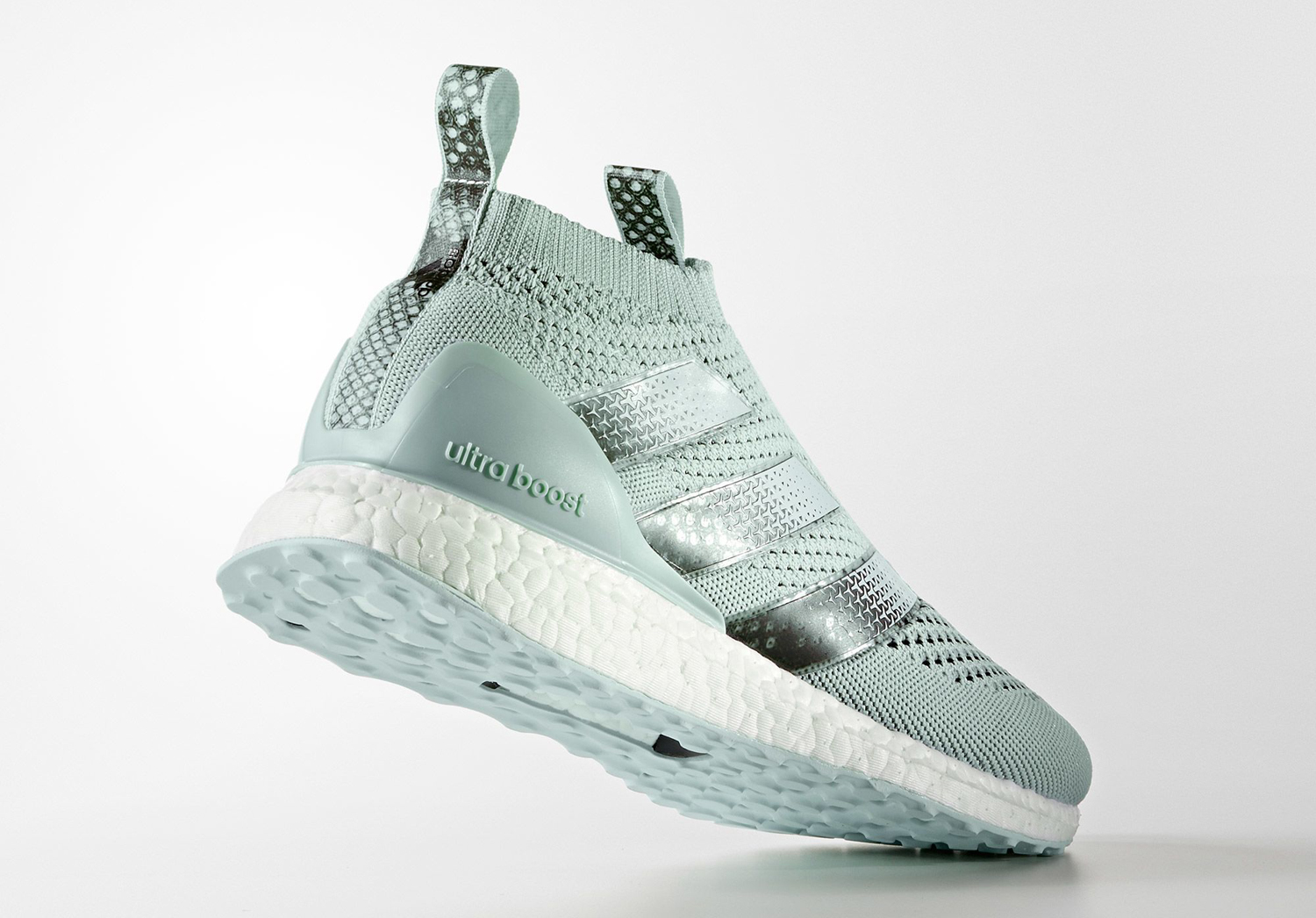 adidas Ace 16 PureControl Ultra Boost Blue Green Lateral BY1599