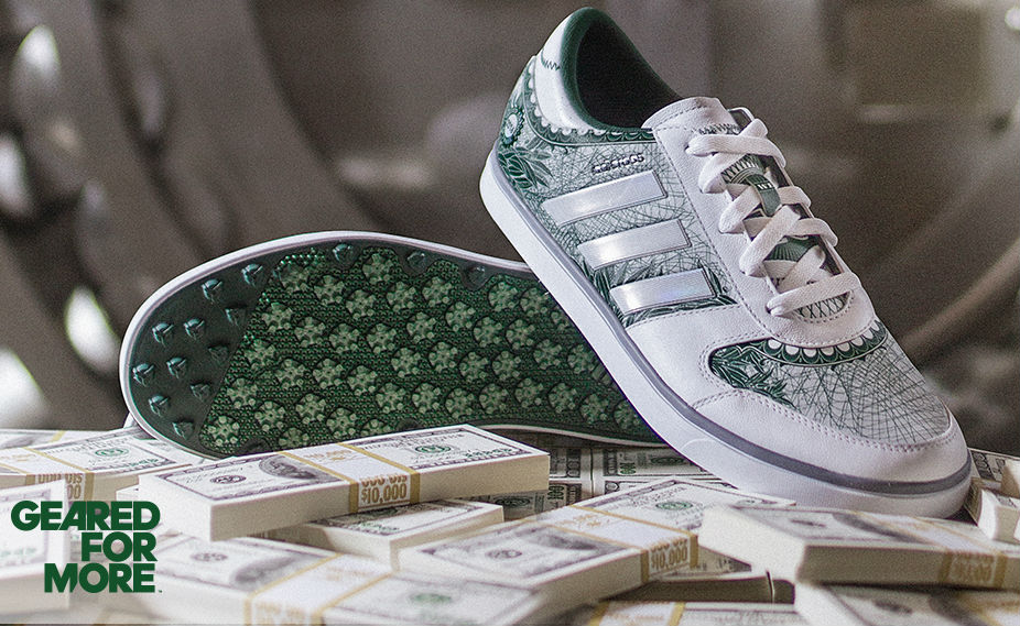 adidas adicross Gripmore 2 Big Check Money Golf Shoes Beauty