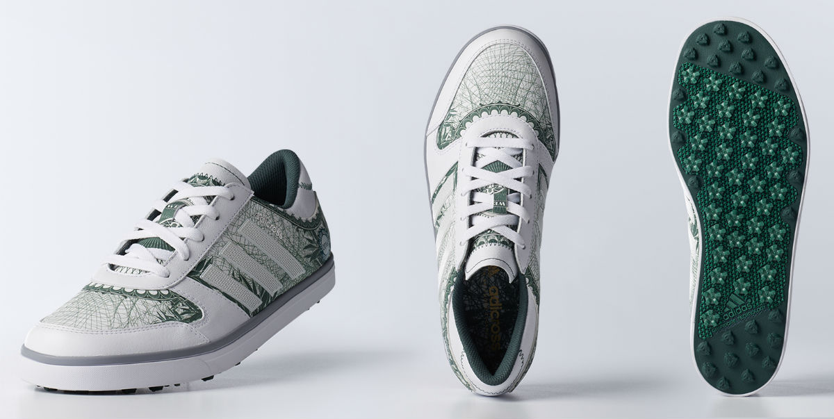 adidas adicross Gripmore 2 Big Check Money Golf Shoes Details